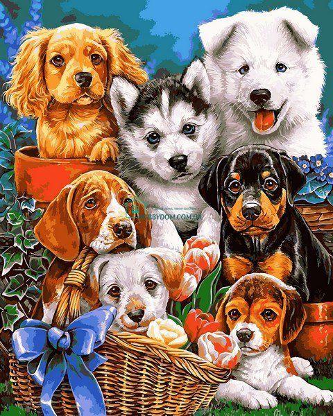 Приезжай скорее, открытки с щеночками