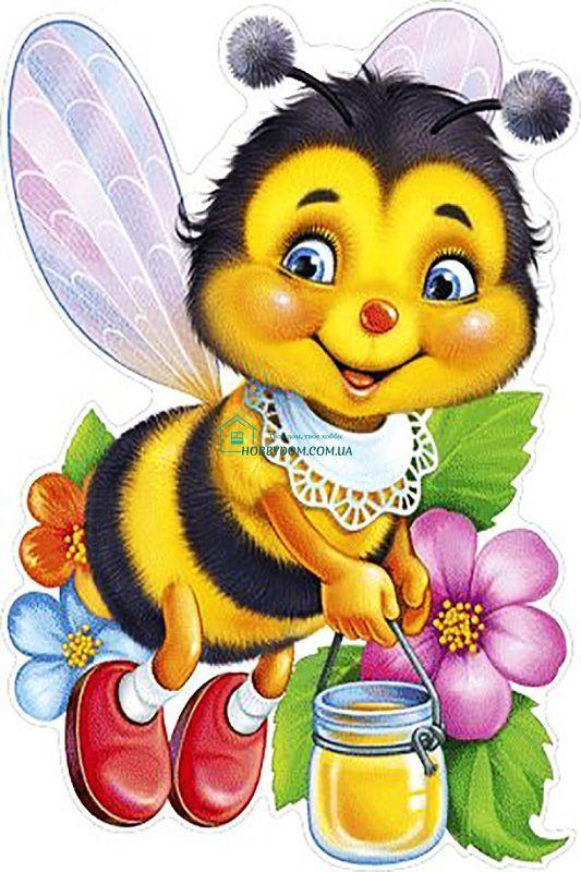 КДИ-0458 Набір діамантової вишивки Бджілка з медом ТМ Чарівний ...