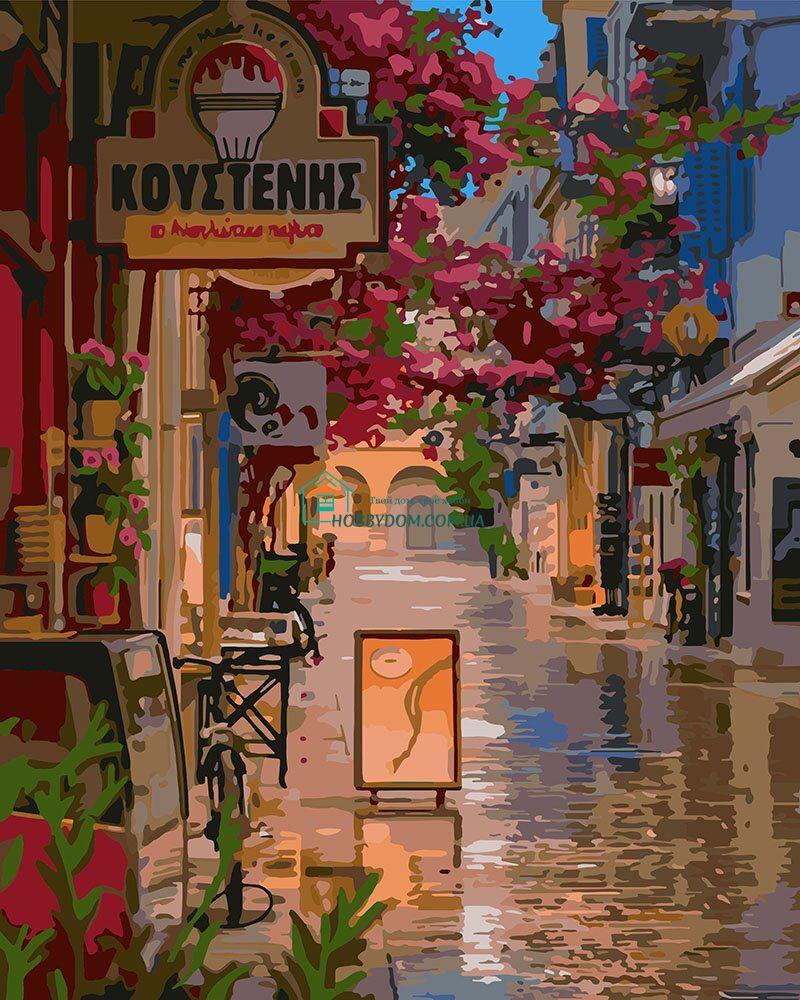 KH3575 Картина-раскраска Улочка в цветах ТМ Идейка 249 грн ...