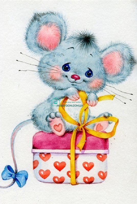 С днем рождения открытки мыши, картинках