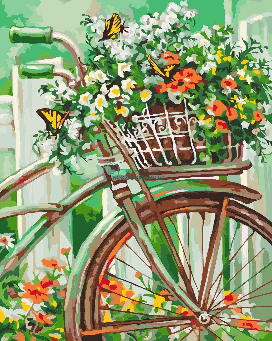 КНО2920 Раскраска по номерам Цветы прованса ТМ Идейка 265 ...